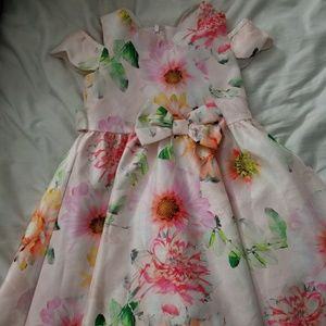 Little girl floral dress